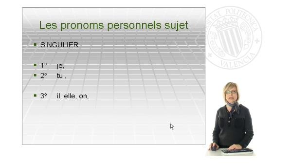 Les pronoms personnels sujet, réfléchis et toniques