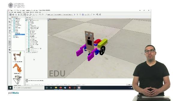CoppeliaSim (V-REP): Creando robot DYOR (Paso 1).