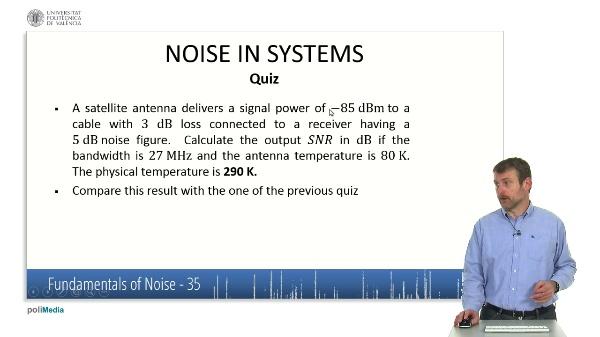 Caracteristicas fundamentales del ruido X