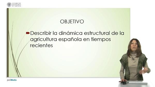 Dinámica estructural de la agricultura española