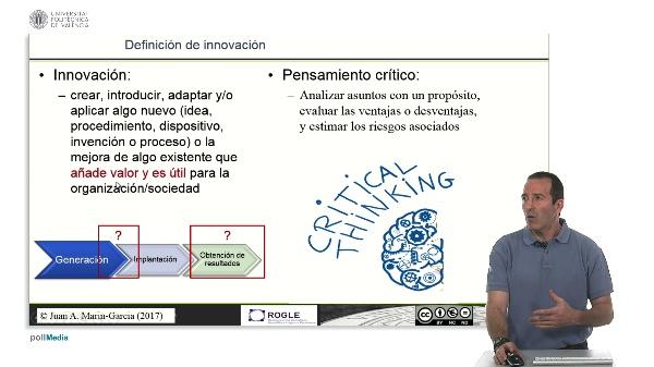 La competencia de Pensamiento crítico y su relación con la innovación.