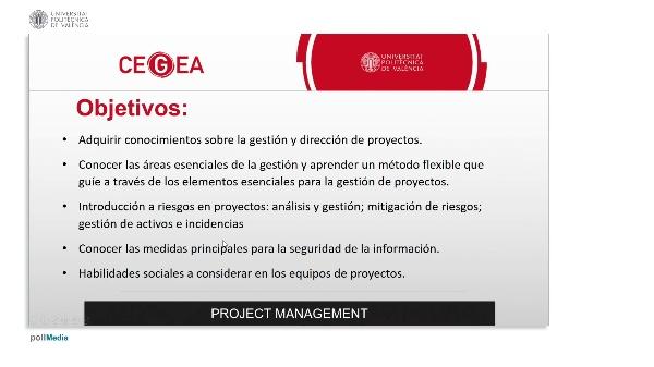 Módulo. Proyectos Management