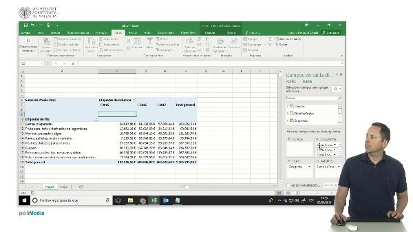 Excel, Power Pivot. Incorporar una tabla de fechas al modelo de datos