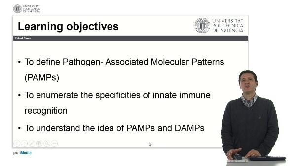 Patrones moleculares asociados a patógenos