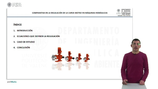 Comparativa en la regulación de la curva motriz en máquinas hidráulicas