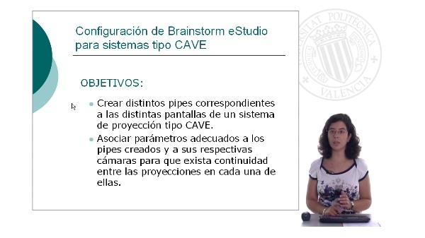 Configuración de Brainstorm eStudio para sistemas tipo CAVE