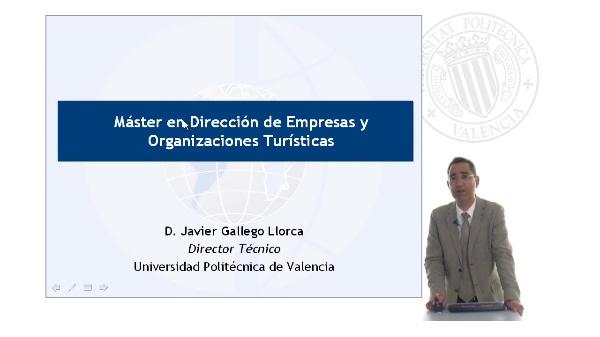 Máster en Dirección de Empresas y Organizaciones Turísticas