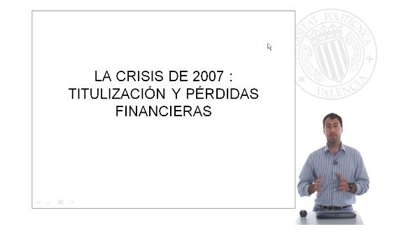 Titulización y pérdidas financieras
