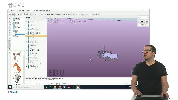 CoppeliaSim (V-REP): Creando robot DYOR (Paso 2).