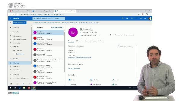 MOOC Office 365. Salir de un grupo