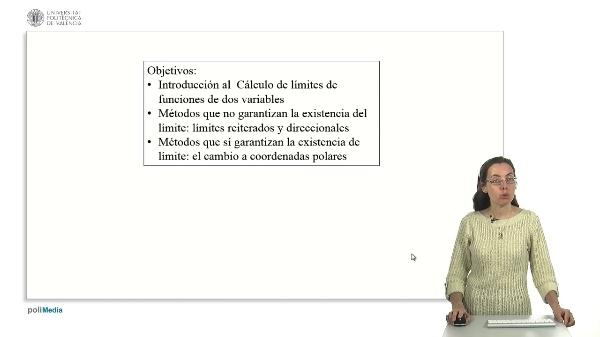 Cálculo de límites de funciones de dos variables