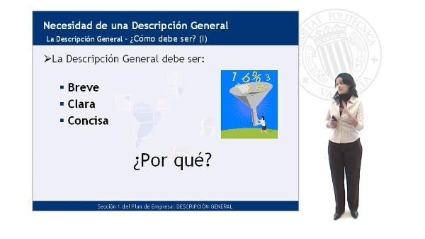 La Descripción General
