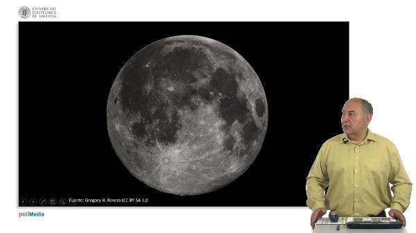 El movimiento de la luna. Eclipses