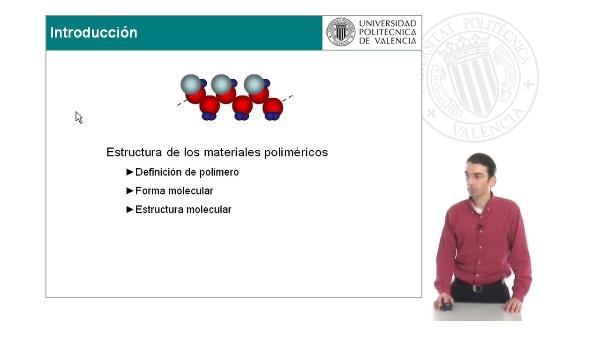 Materiales poliméricos: estructura