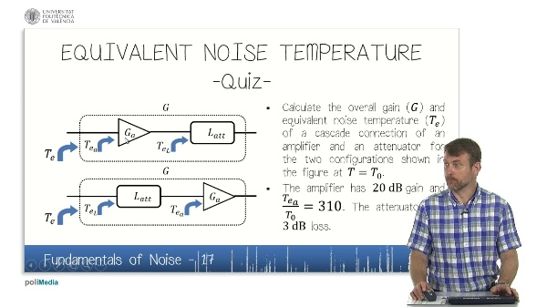 Fundamentals of Noise (VI)