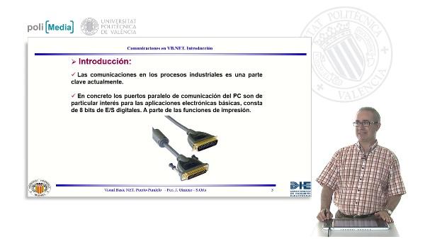 Iniciación con Orientación al Telecontrol y monitorización de EER. Comunicaciones. Paralelo
