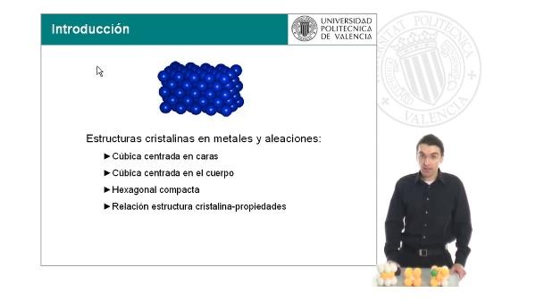 Estructuras cristalinas en metales y aleaciones