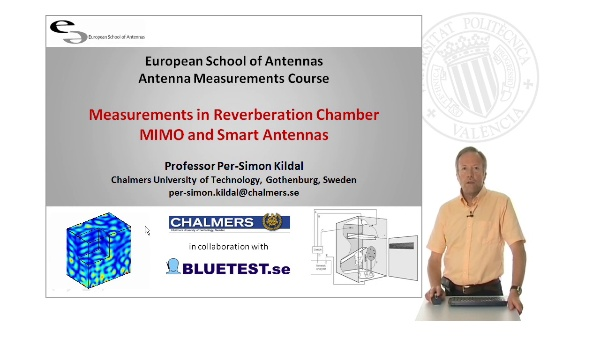 Measurements in Reverberation ChamberMIMO and Smart Antennas. Part 1