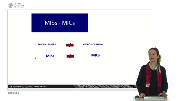 Comparación microcápsula-microesfera