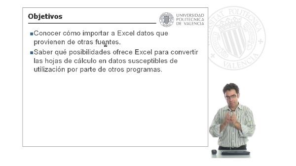 Importación y exportación de datos