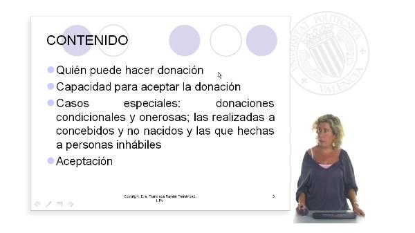 Capacidad del donante y del donatario