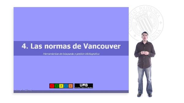 Las Normas de Vancouver