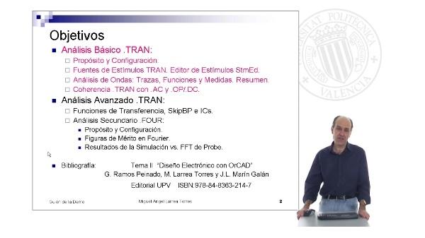 Prontuario de OrCAD. PSpice: Analisis .TRAN (II)