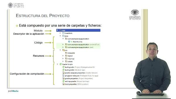 Estructura de un proyecto en Android
