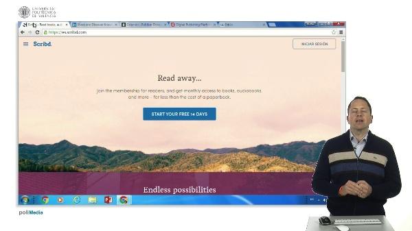 Publicar documentos en Internet: Scribd, Slideshare, Calameo, Isuu, Lulu