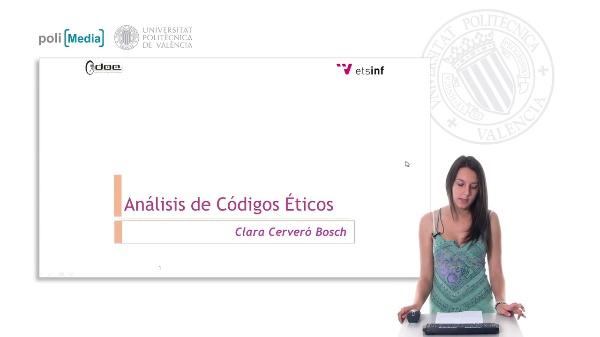 Análisis de códigos Éticos
