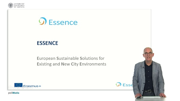Essence. European Sustaniable Solutions for Existing and New City Environments. Presenter 10