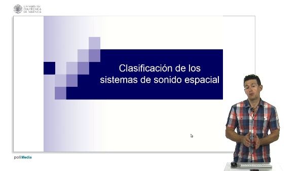 Clasificación de los sistemas de sonido espacial.