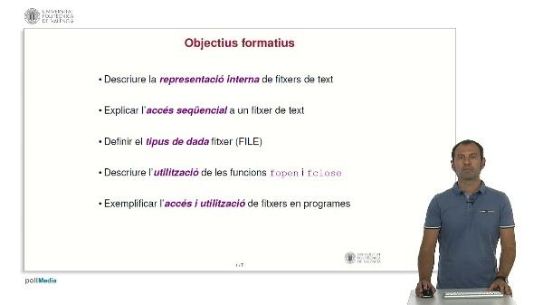 Llenguatge C: Fitxers de text i accés seqüencial