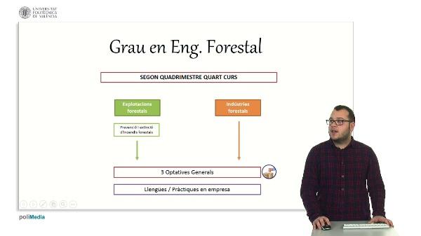 Sistema de votació d¿assignatures optatives.  Grau Eng. Forestal. (VAL)