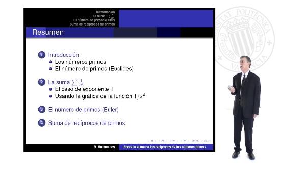Sobre la suma de los recíprocos de los números primos