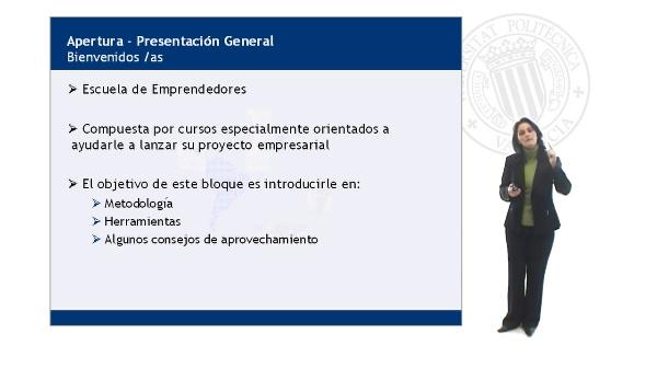 Presentación General