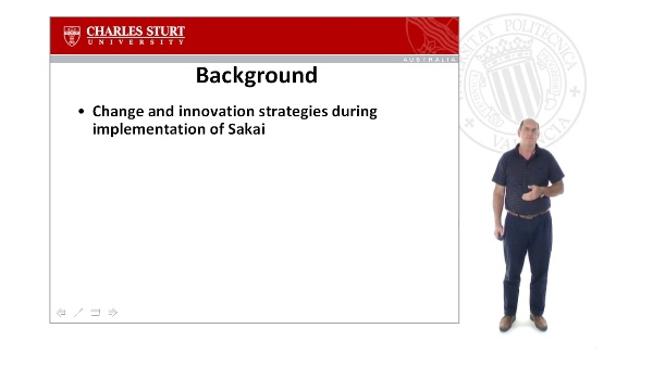 Change and Innovation Strategies during the Implementation of Sakai: An Australian Case Study
