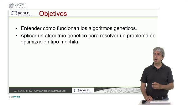 Resolución de un problema de mochila mediante algoritmos genéticos