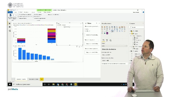 MOOC Power BI. Segmentación de datos (slicers) de fecha