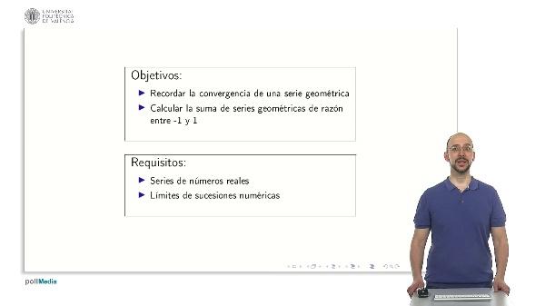 Series numéricas: series geométricas