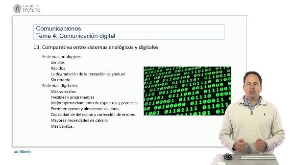 Introducción a las radiocomunicaciones. Comparación sistemas analógicos y digitales