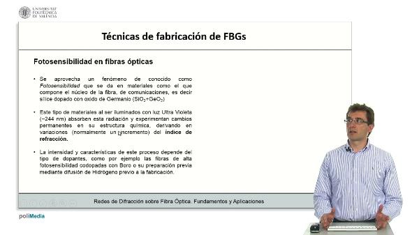 Tecnicas de fabricacion de FBGs
