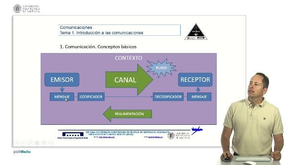 Comunicaciones RPAS. Conceptos básicos, emisores y receptores