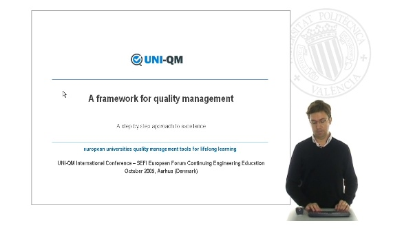 Uni-QM: A framework for quality management
