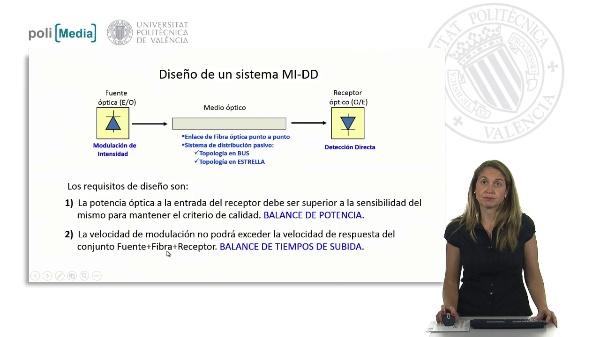 Diseño de un sistema MI-DD: Balance de potencias