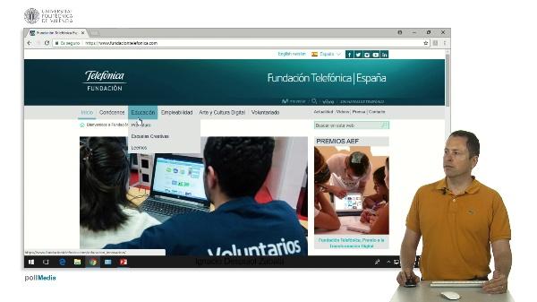 Tecnologías para la educación. Fundación Telefónica