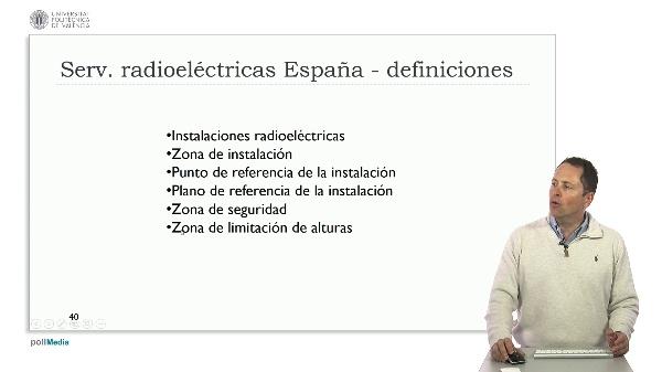 Ingeniería aeroportuaria. Servidumbres radioeléctricas España
