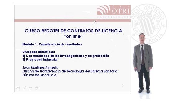 Curso Red Otri de Contratos de Licencia