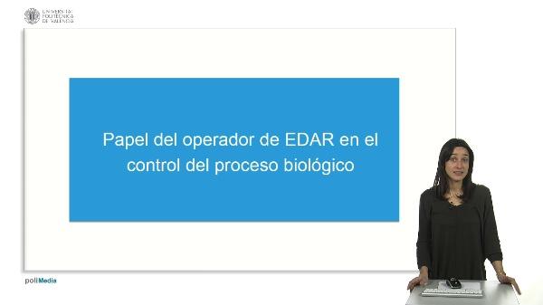 Control del proceso biológico para operadores de EDAR