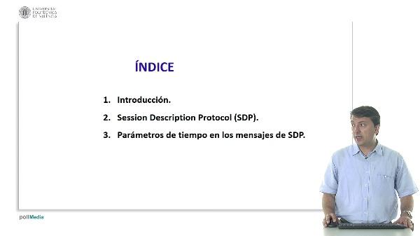 Parámetros de tiempo utilizados en el protocolo Session Description Protocol
